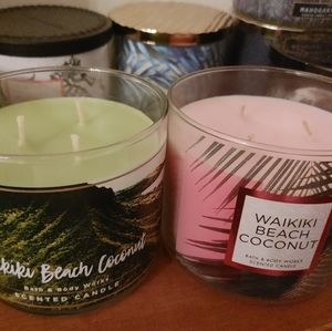 2 bath & body works candles